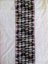 Sjaal retro wit