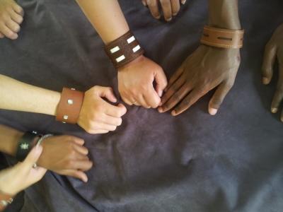 Workshop leren armbanden maken